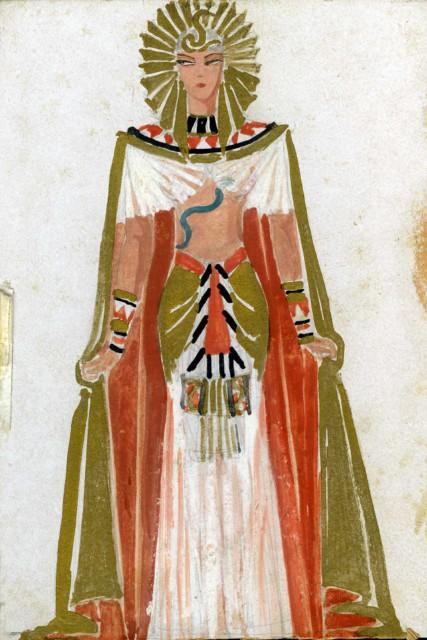 Bajor Gizi Kleopátra-jelmeze