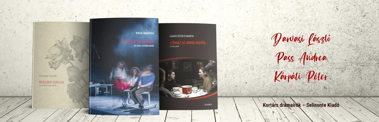 Kortárs drámaírók – Selinunte Kiadó